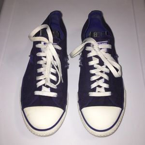 Converse One Star Blue Canvas Sneakers Size 8